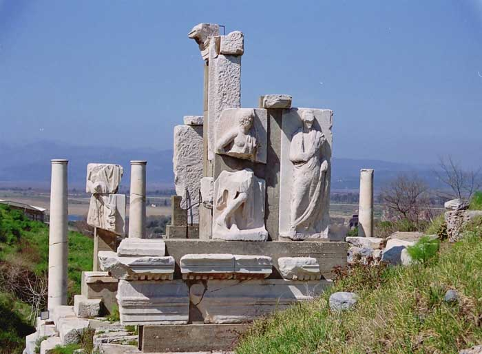Pictures Of Ephesus Seven Churches Biblical Asia Minor