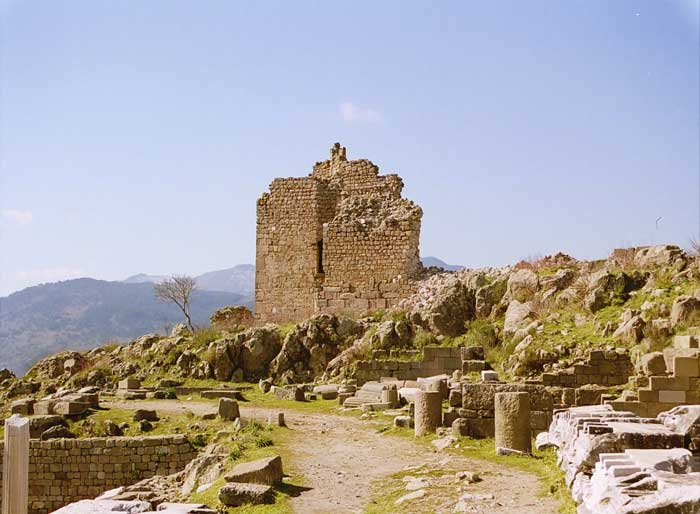 Pictures of Pergamum - Seven Churches - Biblical Sites in Turkey