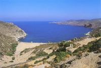 Countryside and Beaches of Patmos Island