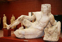 EPHESUS MUSEUM - THE HALL OF THE FOUNTAIN RELICS