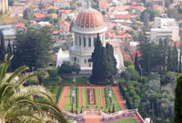 Bahai Shrine - Israel