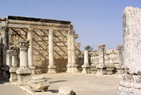 Synagogue at Capernaum - Israel