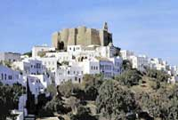 The Monastery of St. John in Patmos Island / Greece