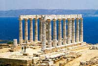 SANCTUARY OF POSEIDON AND ATHENA AT SOUNION
