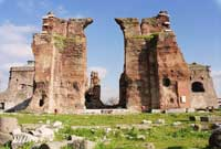 The Temple of Serapis - The Red Basilica - Pergamum - Kusadasi Package Programs