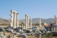 APHRODISIAS - THE TEMPLE OF APHRODITE